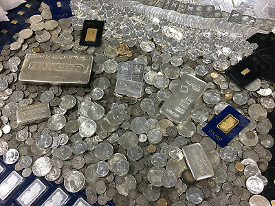 Estate Sale Old Silver Coins Bullion Lot United States Money Set .999 Investment