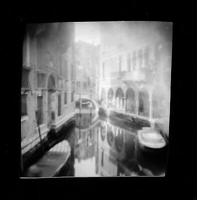 Pinhole Photograph Venice By Wolf Howard From Original Negative