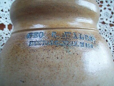 { Antique Stoneware Preserve Jar } Great Brown / Tan Earthy Colors