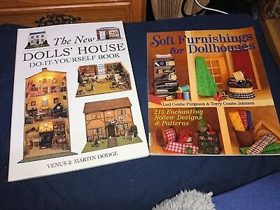 Dolls house book diy finishing touches 299 picclick uk dolls house craft books x2 do it yourself soft furnishings solutioingenieria Choice Image