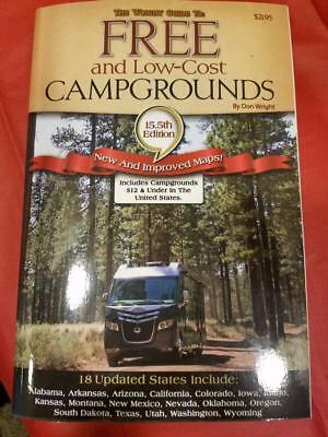 gtfc The Wright Guide to Free and Low-Cost Campgrounds Don Wright 15.5 ed 2017