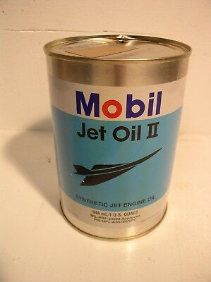 Mobil Jet Oil II Can