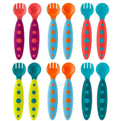 Boon Modware 12pc Toddler Cutlery Set/Spoon/Fork/Baby/Children Feed/BPA/PVC Free