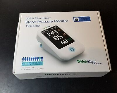 Welch Allyn Home 1500 Series Blood Pressure Monitor FREE SHIPPING