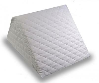 Bed Wedge Pillow Cushion Made in Foam with Removable and Washable Quilted...