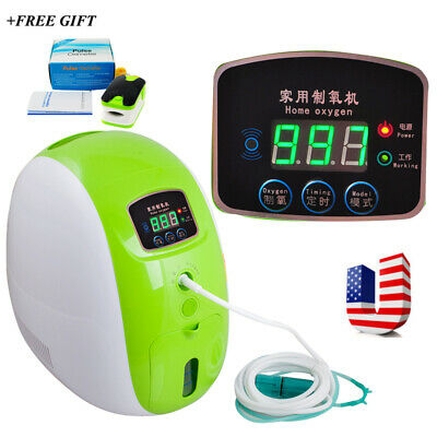 Portable Concentrator Machine Efficient Air Generator Home Air Purifier wBattery
