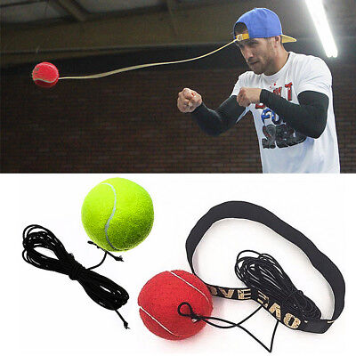 Training Boxing With Headband String For Reflex Speed Sport Exercise Fight Ball