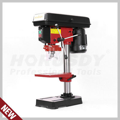 NEW Bench Drill Press Bench Mounted 5 Speed Electric Operation Table Stand Base