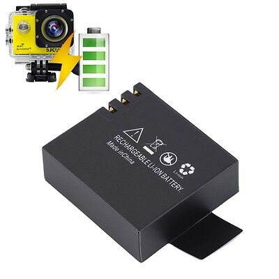 1pc 3.7V 900mAh Battery Power Replace for SJCAM SJ4000 Sports Camera DVR MU