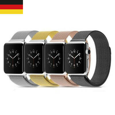 Milanese Loop Magnetic Armband Uhrenarmband Strap Für Apple Watch iWatch 38/42mm