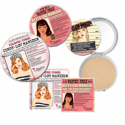 Betty/Cindy/Mary Lou Manizer Sister Bronzer Highlighter Eye Shadow Blush Palette