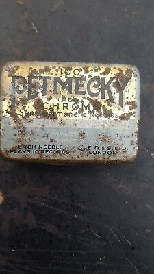 Gramophone Needle Tin  With  Needles