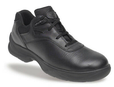5111 Himalayan S3 Black Leather Mens Metal Free Safety Lace-Up Shoe