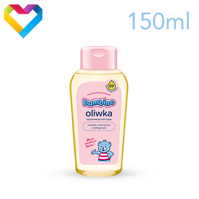 BAMBINO NIVEA BABY OIL CARE COSMETICS FOR BABIES AND CHILDREN 150ml