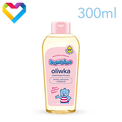 BAMBINO NIVEA BABY OIL CARE COSMETICS FOR BABIES AND CHILDREN 300ml