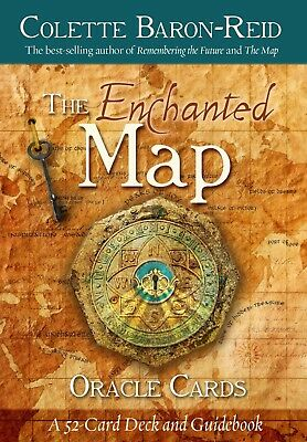 Enchanted Map Oracle Set Deck Cards Wiccan Pagan Metaphysical