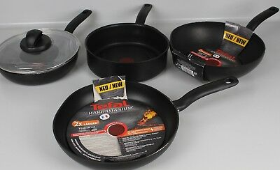 tefal hard titanium pro frying pan non stick thermo spot. Black Bedroom Furniture Sets. Home Design Ideas