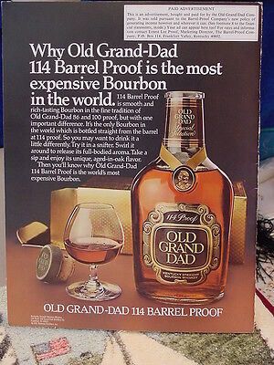 Brown Foreman Distilery Liquor Share Holders Report 1980 Vintage Advertising