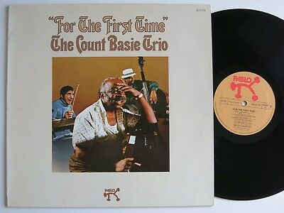 Count Basie Trio For The First Time Orig Pablo Lp Mint-