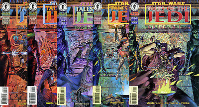 Star Wars Comic Set TALES OF THE JEDI FALL OF THE SITH EMPIRE Complete #1-5 TOTJ