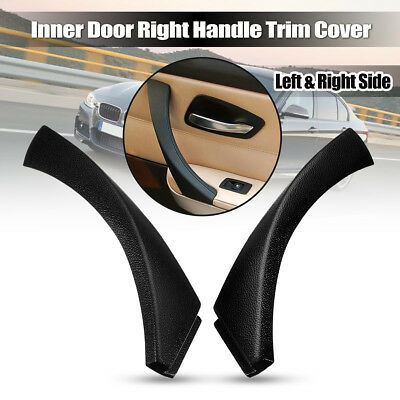 Inner Door Panel Handle Outer Trim Cover For BMW E90 3-Series Sedan 51419150336