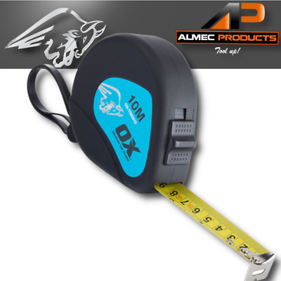 OX Tools Trade Tape Measure 10m/33ft Metric/Imperial OX-T500810