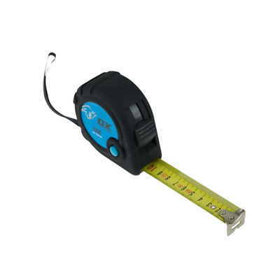 Ox Tools Trade Tape Measure 5m/16ft Metric/Imperial T020605