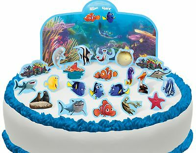 Flags Party Cupcake Decorations X 12 Nemo Cake Picks Finding Dory