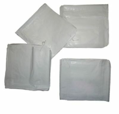 Food White Greaseproof Paper Bags Cafe pack Takeaway Select Size & Qty