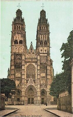 CPA - Carte postale -  FRANCE -TOURS - Sa Cathédrale (iv 113)