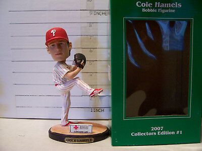 8ad928fc3 2007 Cole Hamels Christmas In July Philadelhia Phillies Bobblehead Sga Mint