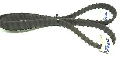"CONTINENTAL CONTITECH D570H075 DUAL POSITIVE DRIVE BELT 57"" Length, 0.75"" Wide"