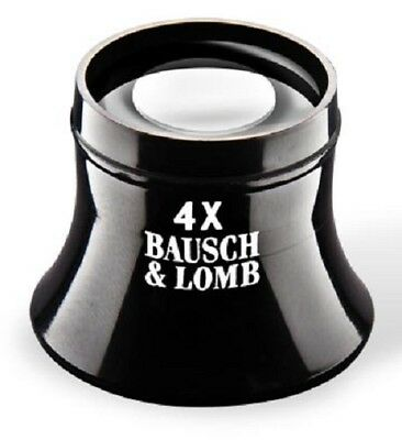 Bausch & Lomb New Precision Watchmaker Loupe 4X Lightweight Glass Lens Free Post