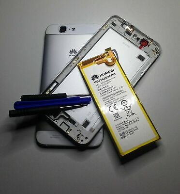 Huawei Ascend G7 G7-L01 Hb3748b8ebc Battery Housing Cover Case Rear Back Silver