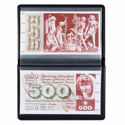 Large Banknotes Pocket Album Wallet For Currency Bills 20 Pages Lighthouse New