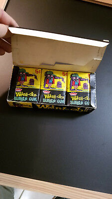 Weird-Ohs Full 24 Pack Box 5 Cent Packs Super Rare Vintage Fleer 1965