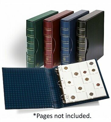 Banknotes Stamp Collection Album Lighthouse Grande Classic Binder Blue+ Slipcase