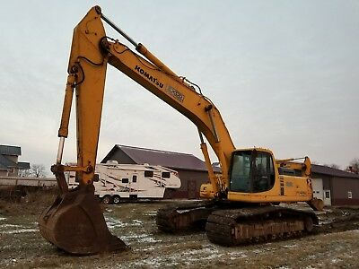 1999 Komatsu PC400LC-6 Track Excavator  Tooth Bucket Removable Counterweight