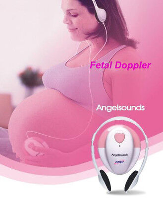 Angelsounds Fetal Doppler Angel Sounds Ultra Sound Prenatal Baby Heart Monitor