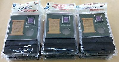 Whitman Coin Holder 9765 Susan B. Anthony Lot Of 40 Packages NIP