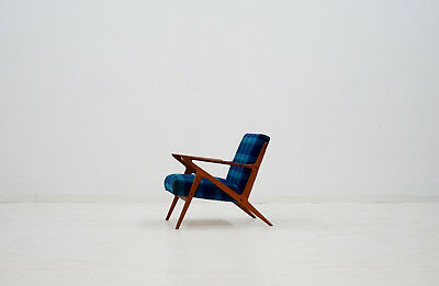 Admirable Z Lounge Chair By Poul Jensen Selig Mid Century Danish Inzonedesignstudio Interior Chair Design Inzonedesignstudiocom