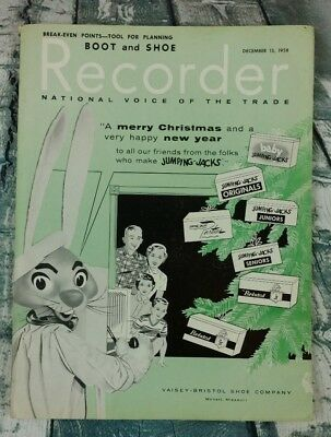 Boot & Shoe Recorder National Voice Of The Trade  December 15th 1958