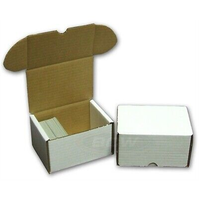 BCW 330 Count Corrugated Cardboard Baseball Trading Card Coin Slab Storage 1 Box