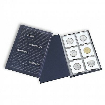 Coin Collection Mini Album 2x2 Folder Storage Lighthouse Holder 60 Pockets Free