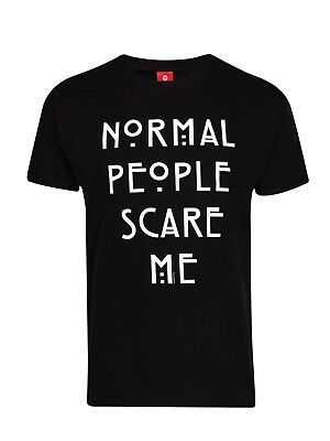 American Horror Story Normal People T-Shirt Black