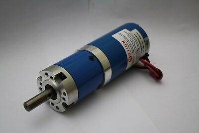 24Vdc Electric Motor with 47:1 Planetary Gearbox (UK SELLER) MCP REF