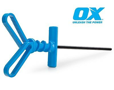 OX Plaster Mixing Paddle Mixer Whisk Stirrer Plastering Tiling Building Fast Mix