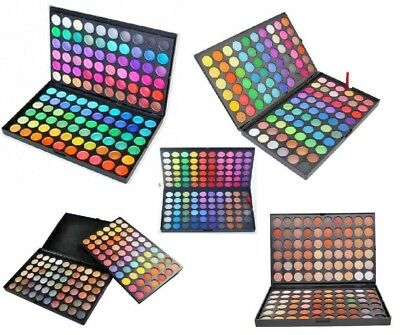 New 120 Colours Eyeshadow Eye Shadow Palette Makeup Professional Sets UK Stock