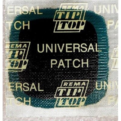 5x Universal Patch UP6  60x60 mm REMA TIP TOP Tire patch . HIGH QUALITY GERMANY