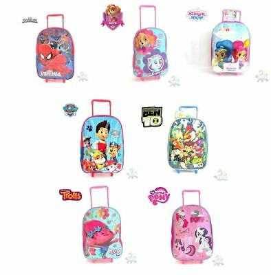 Childs Character Trolley Wheelie Bag